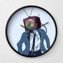 Static- Vortex Wall Clock
