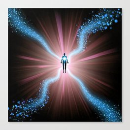 Beings Of Light Canvas Print