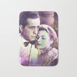 Casablanca | PRINT | Here's looking at you, kid. | Quote | Vintage Style Poster #M44 Bath Mat