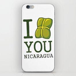 I nacatamal You Nicaragua iPhone Skin