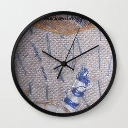 Bisogna ricominciare il viaggio sempre Wall Clock