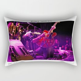 Birds in the Boneyard, Print Two: Mikey Shreds Rectangular Pillow