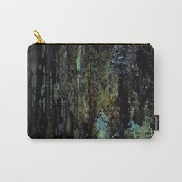 Colourful Wood Rot Carry-All Pouch