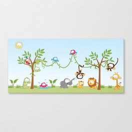 Amazon Jungle Canvas Print
