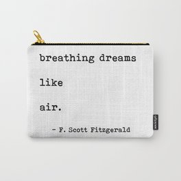 breathing dreams like air Carry-All Pouch