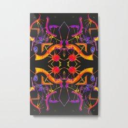 五 (Wǔ) Metal Print