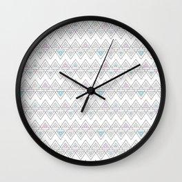 Abstract pyramid Wall Clock
