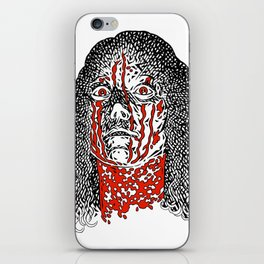 Carrie (color) iPhone Skin