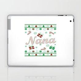 Nana Christmas Laptop & iPad Skin