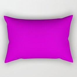 Deep Magenta - solid color Rectangular Pillow