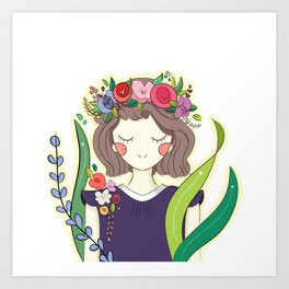 Spring is here! Art Print