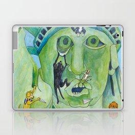 Statue of Liberty Canine Style Laptop & iPad Skin