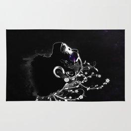Monkey Tripping - Black Rug