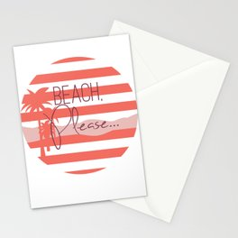 Beach, Please... Stationery Cards