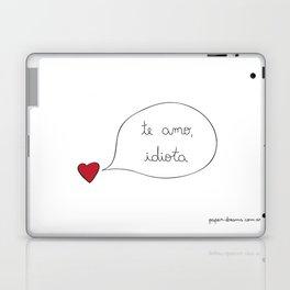 Love you Idiot Laptop & iPad Skin