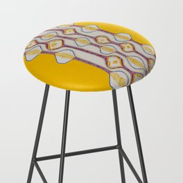 Stitches - Growing bubbles Bar Stool