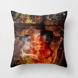 """Steve Bannon: """"Darkness is good. Dick Cheney. Darth Vader. Satan. That's power."""" Throw Pillow"""