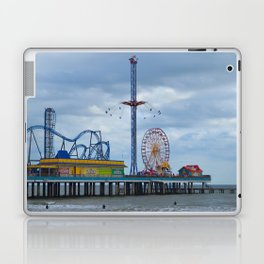 Pleasure Pier - Galveston Texas Laptop & iPad Skin