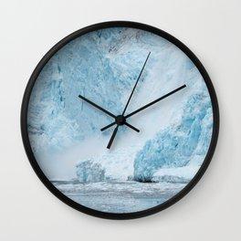Icy Thunder Wall Clock