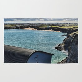 Padstow Lifeboat Station 2 Rug