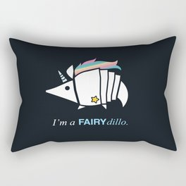 Armadillos Epidemy - Fairy'dillo Rectangular Pillow