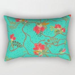 SweetPeaTurq Rectangular Pillow