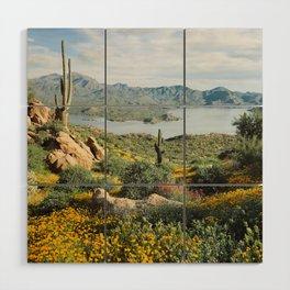 Arizona Blooms Wood Wall Art