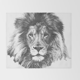 lion Throw Blanket