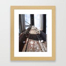 leading line  Framed Art Print