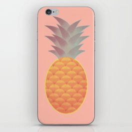 Pink pineapple iPhone Skin
