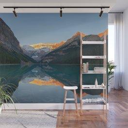 LAKE LOUISE AUTUMN SUNRISE BANFF NATIONAL PARK CANADA LANDSCAPE PHOTOGRAPHY Wall Mural