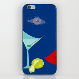 Cocktail Martini iPhone Skin