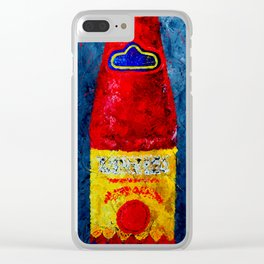 LHS - Hot Sauce Clear iPhone Case