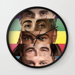 Queer Eye(s) Wall Clock