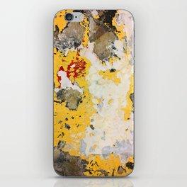 Broken Paint iPhone Skin