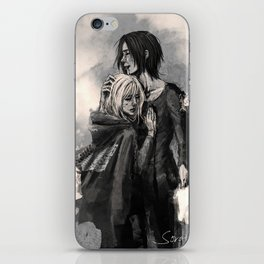 """No matter what, I'm on your side."" iPhone Skin"