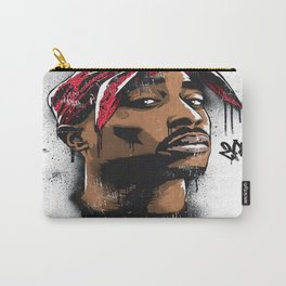 Tupac's Potrait Carry-All Pouch