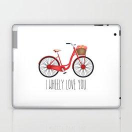I Wheely Love You Laptop & iPad Skin