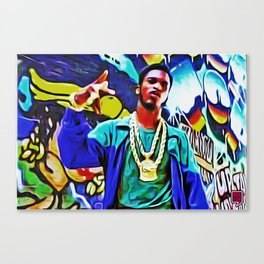 """1987 LIVE: I AIN'T NO JOKE!"" Canvas Print"