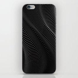 Minimal curves II iPhone Skin