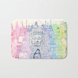 Angkor Wat & Thailand Bath Mat