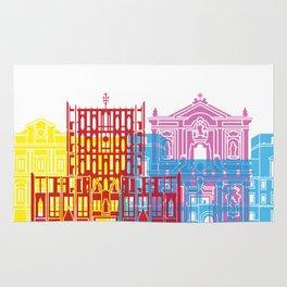 Tarento skyline pop Rug