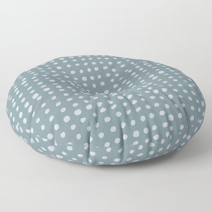 Slate x Dots Floor Pillow
