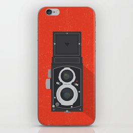 Classic TLR camera iPhone Skin