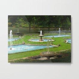 Garden of Fountains Metal Print