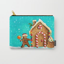 Christmas gingerbread party Carry-All Pouch