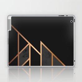 Black & Gold 035 Laptop & iPad Skin