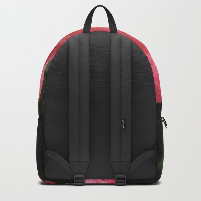Multi-Hued Rose Backpack