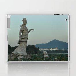 Statue at Xuanwu Lake Laptop & iPad Skin