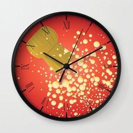 Flying Cork Wall Clock